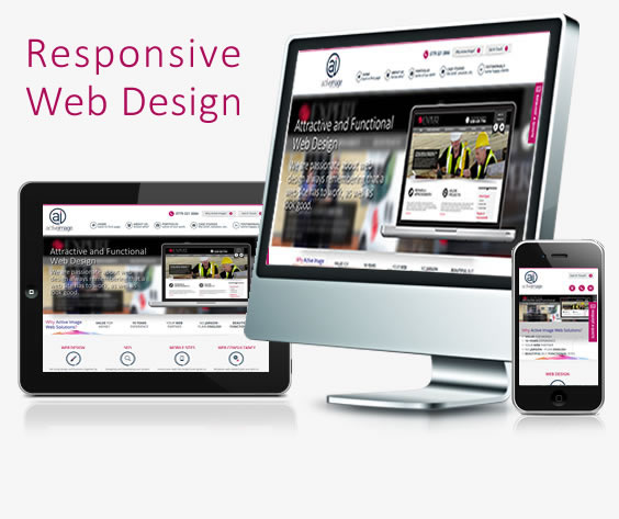 Web Designers Buckinghamshire - Active Image Web Solutions Web Design Service Graphic