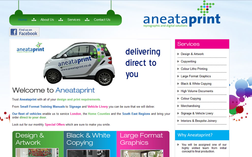 AneataPrint Reprographic and Digital Solutions