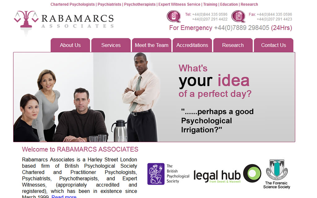 Rabamarcs Phorensic Psychologists