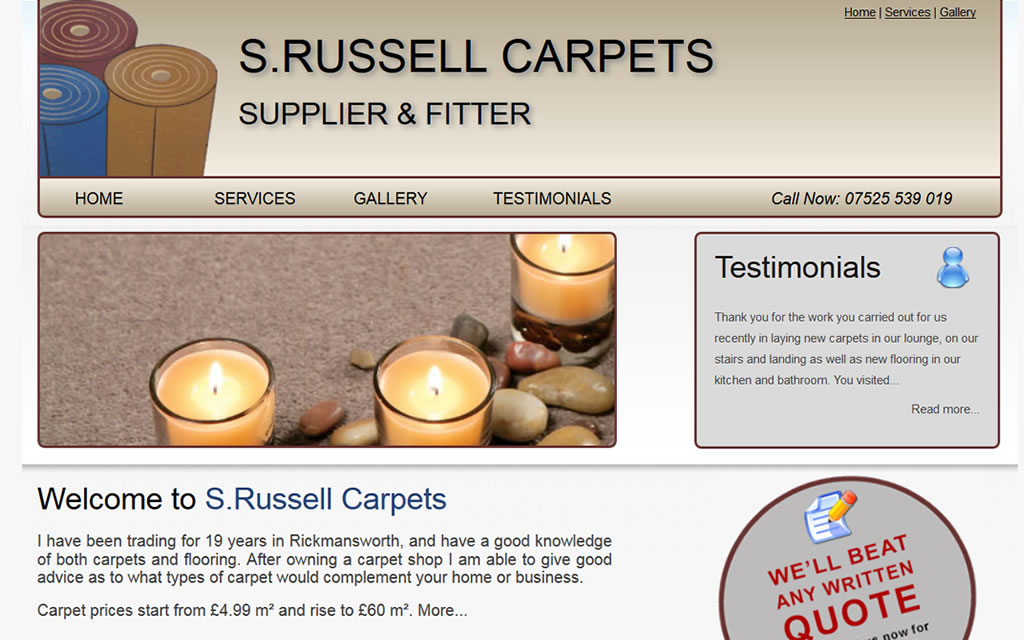 S Russell Carpets