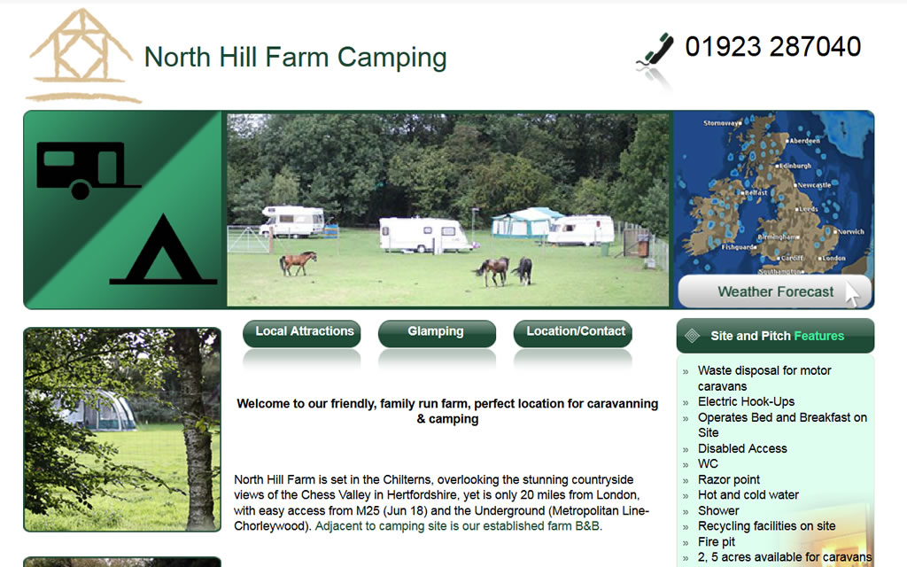 North Hill Farm Camping