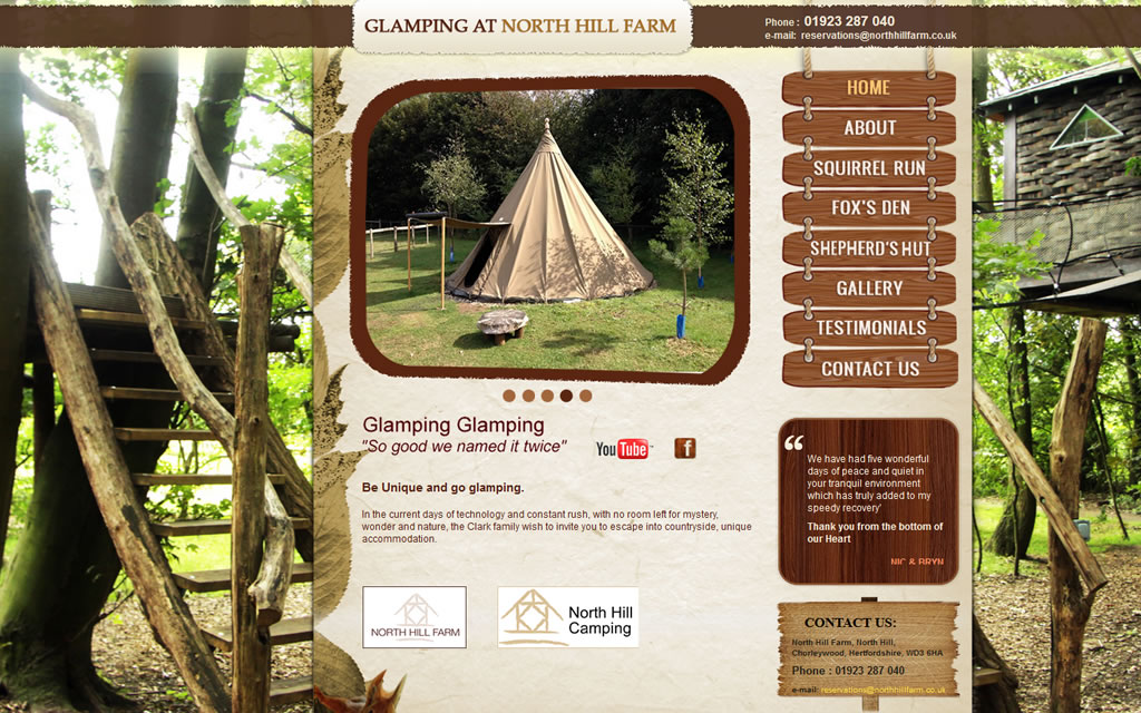 North Hill Farm Glamping