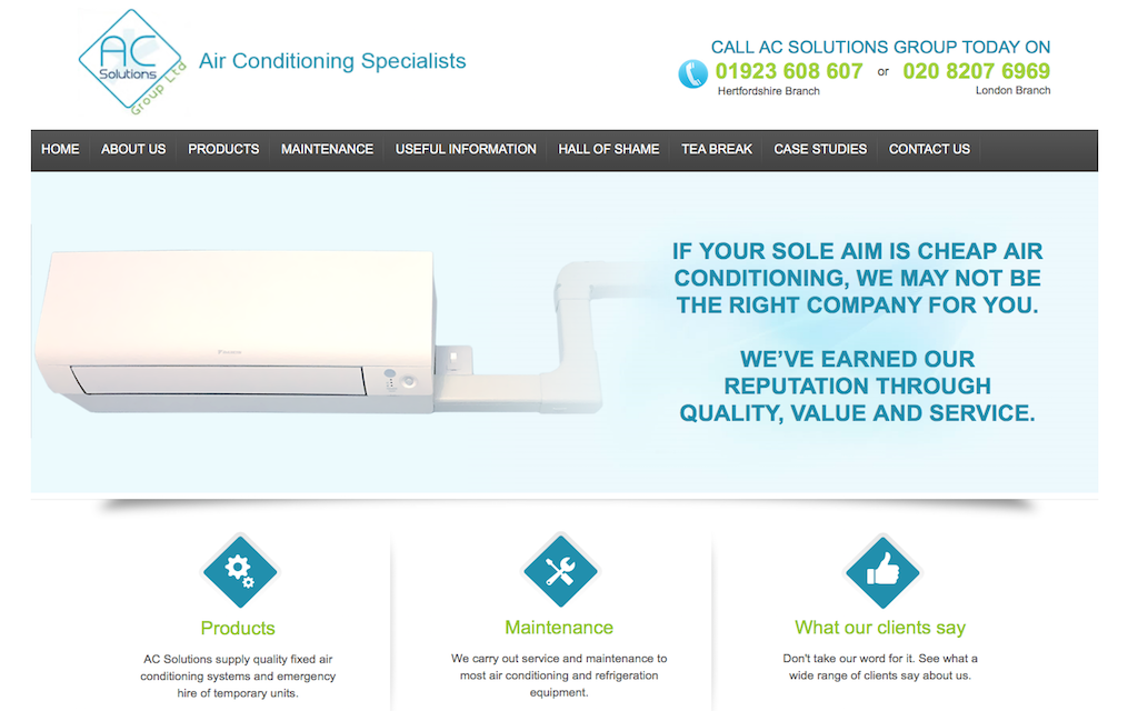 AC Solutions Air Conditioning